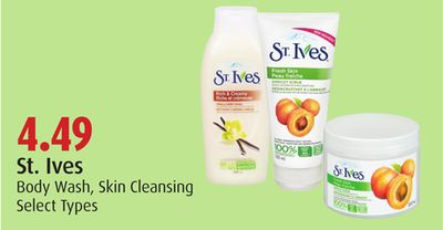 St. Ives Body Wash - Skin Cleansing