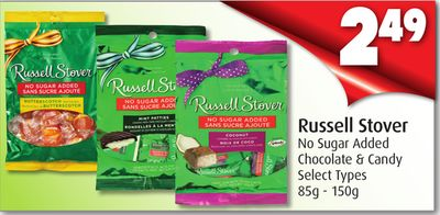 Russell Stover No Sugar Added Chocolate & Candy