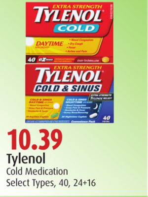 Tylenol Cold Medication