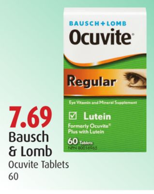 Bausch & Lomb Ocuvite Tablets