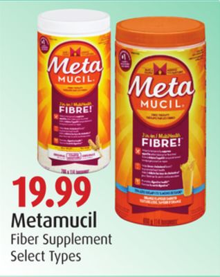 Metamucil Fiber Supplement