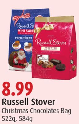 Russell Stover Christmas Chocolates Bag