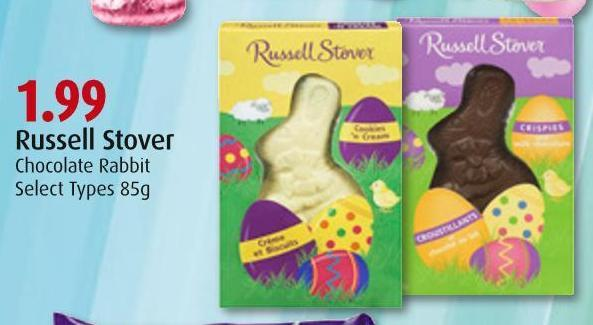 Russell Stover Chocolate Rabbit