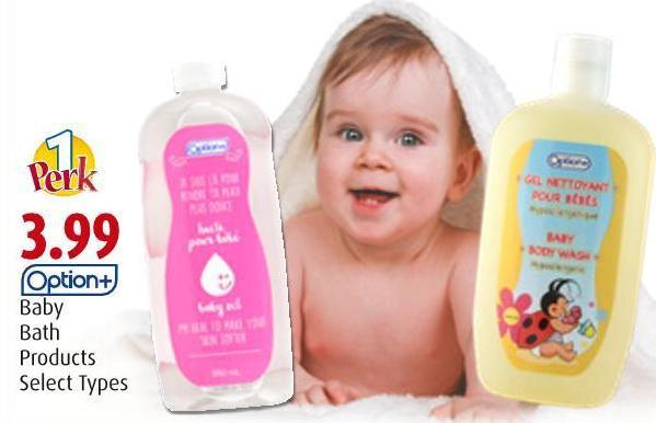 Option+ Baby Bath Products