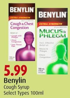 Benylin Cough Syrup