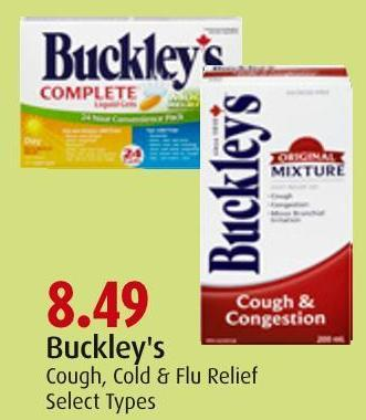Buckley's Cough - Cold & Flu Relief