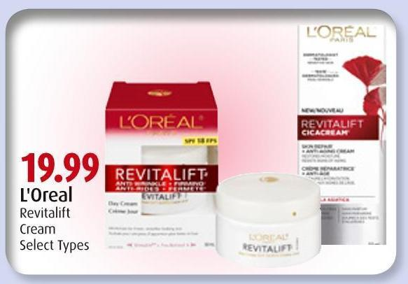 L'Oreal Revitalift Cream