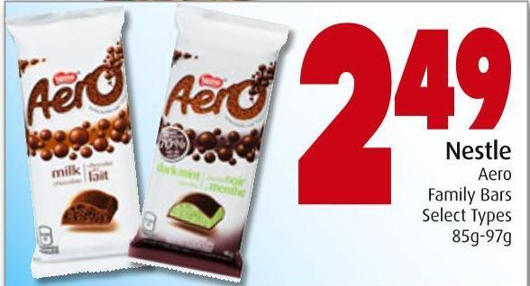 Nestle Aero Family Bars