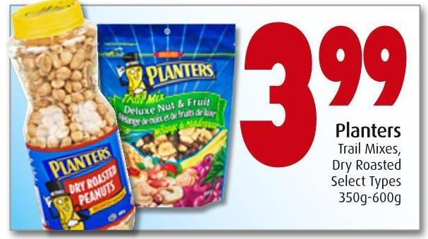 Planters Trail Mixes -