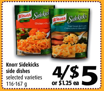 Knorr side dishes coupons 2018