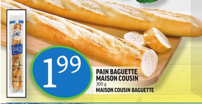 pain baguette maison cousin maison on sale