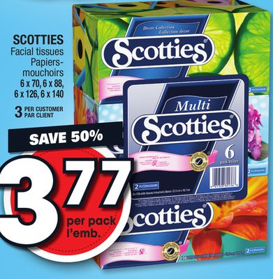 Scotties Facial Tissues 94