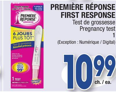 how to take a first response pregnancy test
