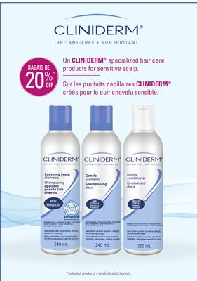 hair styling products for sensitive scalp cliniderm on cliniderm en solde cette semaine salewhale ca 8259 | cliniderm on cliniderm