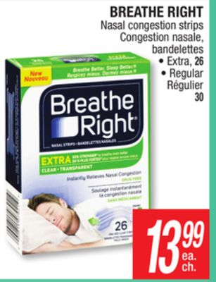 Cns breathe right strips marketing