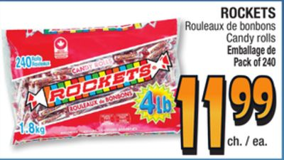 Rockets Candy Rolls on sale | Salewhale.ca