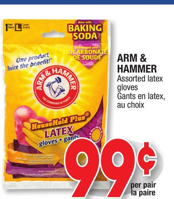 Arm Amp Hammer Assorted Latex Gloves On Sale Salewhale Ca