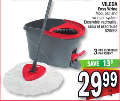Vileda Easy Wring Mop Pail And On Sale Salewhale Ca
