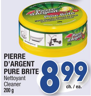 pierre d 39 argent pure brite cleaner on sale. Black Bedroom Furniture Sets. Home Design Ideas