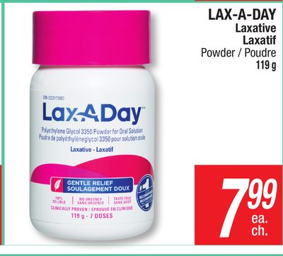 Lax a day coupon