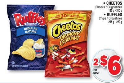 Cheetos Ruffles Selected Products On Sale Salewhale Ca
