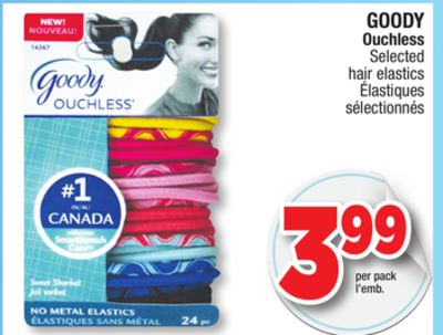 goody ouchless selected hair elastics on sale salewhale