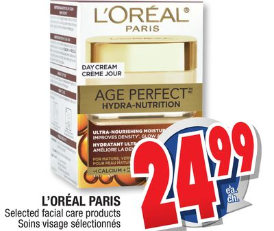 Loreal facial products gorgeous and