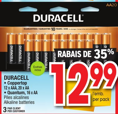 Duracell batteries coupons 2018