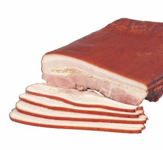 how to cook double smoked bacon