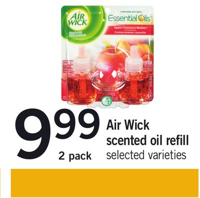 Air Wick Scented Oil Refill - 2 Pack