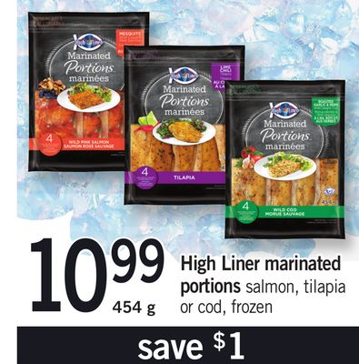 High Liner Marinated Portions - 454 g