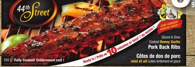 Honey Garlic Pork Back Ribs - 550-680 g