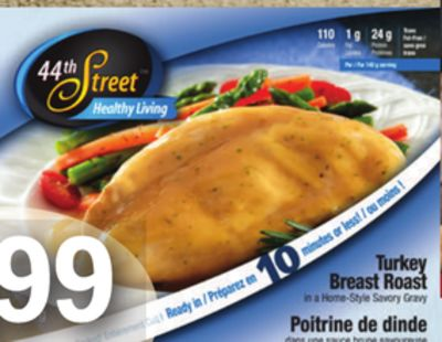 Healthy Living Turkey Breast - 550-680 G