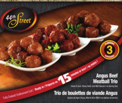 Angus Beef Meatball Trio - 1.2 Kg