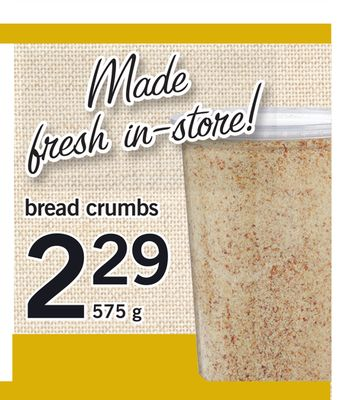 Bread Crumbs - 575 g