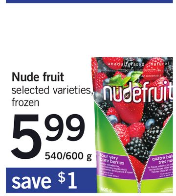 Nude Fruit - 540/600 g