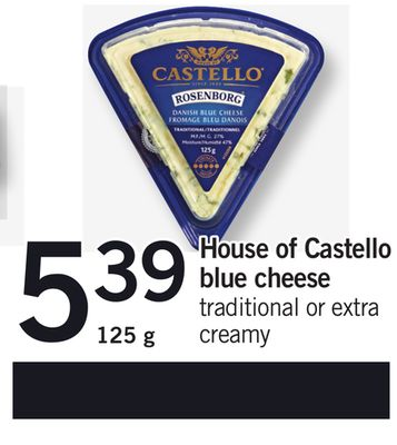 House Of Castello Blue Cheese - 125 g