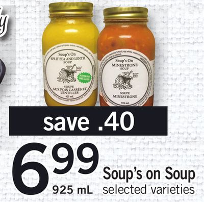 Soup's On Soup - 925 mL