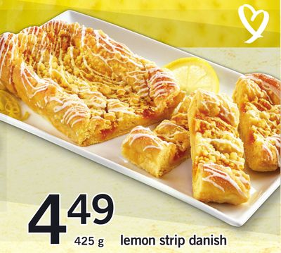 Lemon Strip Danish - 425 g