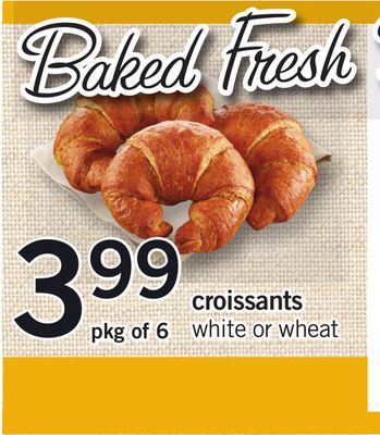 Croissants - Pkg of 6