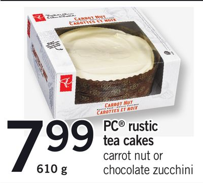 PC Rustic Tea Cakes - 610 g