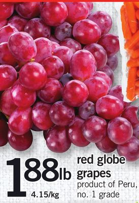 Red Globe Grapes
