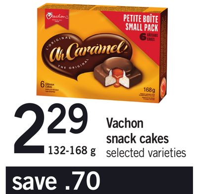 Vachon Snack Cakes - 132-168 g