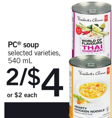 PC Soup - 540 mL