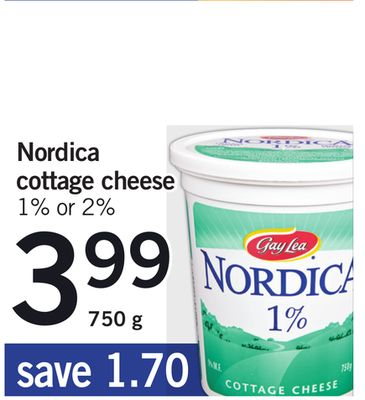 Nordica Cottage Cheese - 750 g