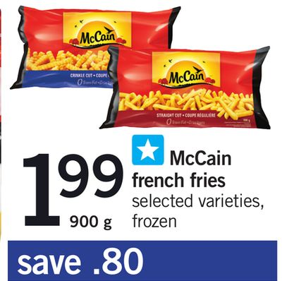 Mccain French Fries - 900 g
