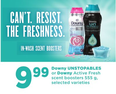 Downy Unstopables Or Downy Active Fresh Scent Boosters - 555 G