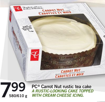 PC Carrot Nut Rustic Tea Cake - 580/610 g