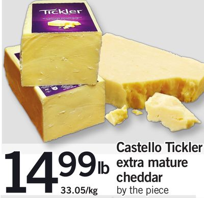 Castello Tickler Extra Mature Cheddar