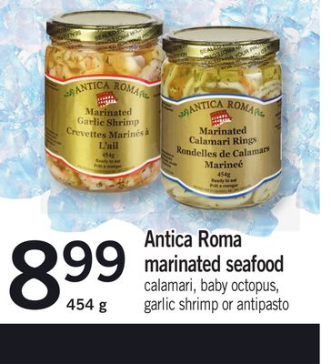 Antica Roma Marinated Seafood - 454 g